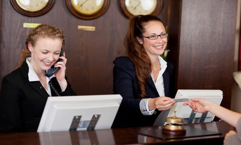 Hotel Reception & Reservation Assistant Skills